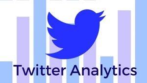 Twitter bird flying over chart