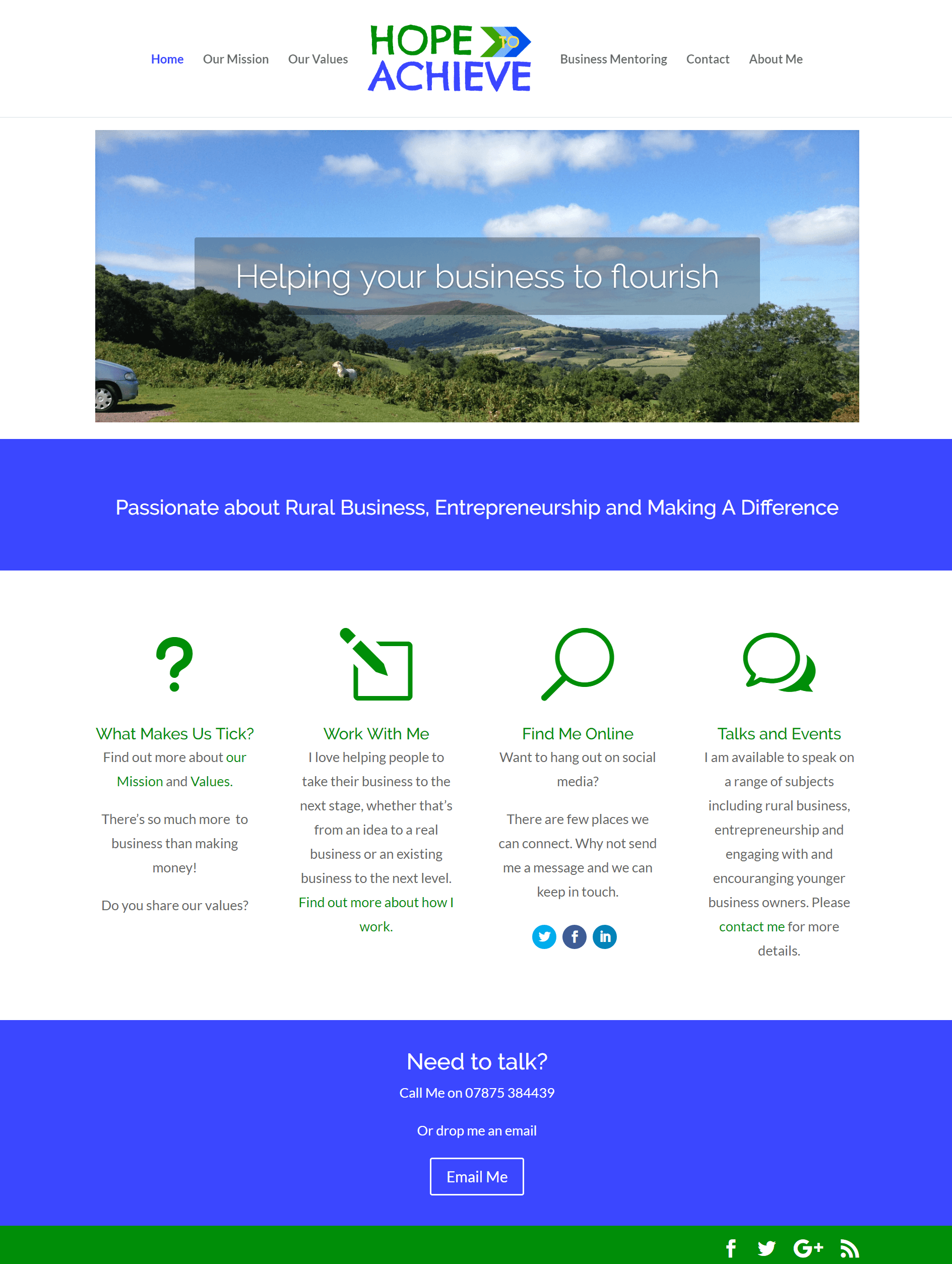 Hope to achieve website